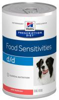 Hills Canine  d/d salmon/rice (dieta) konz.