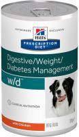Hills Canine  w/d (dieta) konz. 370g