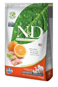 N&D dog GF ADULT MEDIUM FISH/ORANGE