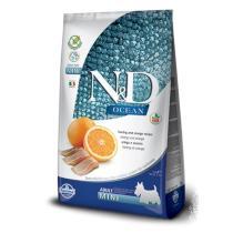 N&D  dog GF OCEAN  ADULT  MINI herring/orange