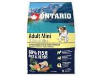 ONTARIO dog ADULT MINI fish