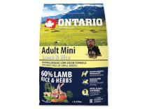 ONTARIO dog ADULT MINI lamb