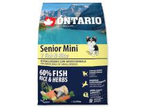 ONTARIO dog SENIOR MINI fish