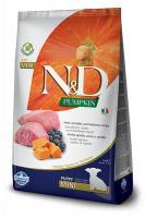 N&D dog GF PUMPKIN PUPPY MINI lamb/blueberry