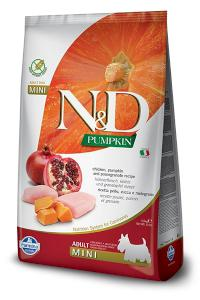 N&D dog GF PUMPKIN ADULT MINI chicken/pomegranate