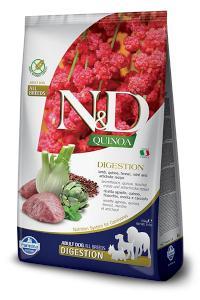 N&D dog GF QUINOA digestion LAMB/fennel