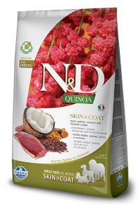 N&D dog GF QUINOA skin/coat DUCK/COCONUT