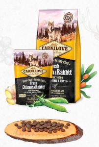 CARNILOVE dog FRESH ADULT CHICKEN/rabbit