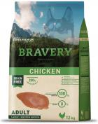 BRAVERY dog ADULT large/medium CHICKEN