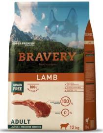 BRAVERY dog ADULT large/medium LAMB