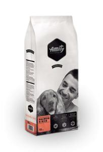 AMITY premium dog SALMON/rice