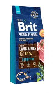 BRIT dog Premium By Nature SENSITIVE LAMB & RICE