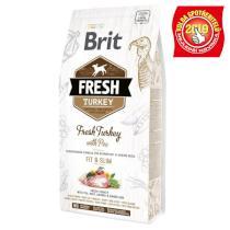 BRIT FRESH ADULT FIT and SLIM turkey/pea
