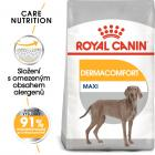 Royal Canin Maxi Dermacomfort - granule pre veľké psy s problémami s kožou