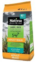 NATIVIA dog ADULT MAXI lamb