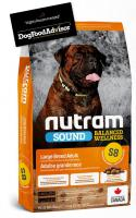 NUTRAM dog   S8 -  ADULT  LARGE