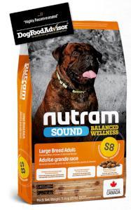NUTRAM dog   S8 -  ADULT  LARGE