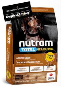 NUTRAM dog T27 - TOTAL GF SMALL chicken/turkey