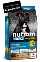 NUTRAM dog T25 - TOTAL GF  SALMON/trout