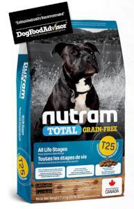 NUTRAM dog T25 - TOTAL GF  SALMON/trout