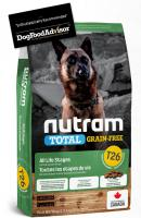 NUTRAM dog T26 - TOTAL GF  LAMB/lentils