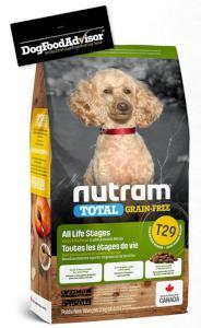 NUTRAM dog T29 - TOTAL GF SMALL lamb/lentils