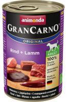 Animonda dog konzerva Gran Carno hovädzie/jahňa