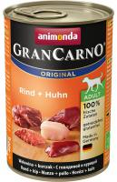 Animonda dog konzerva Gran Carno hovädzie/kura