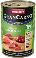 Animonda dog konzerva Gran Carno hovädzie / kačacie srdce