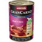 Animonda dog konzerva Gran Carno Hovädzie + Srdce