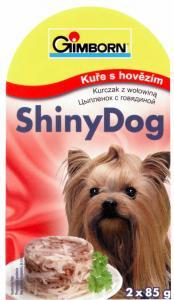 GIMBORN SHINY dog konz. KURČA / hovädzie