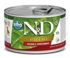 N&D dog PRIME konz. PUPPY MINI chicken/pomegranate