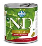 N&D dog PRIME konz. ADULT chicken/pomegranate