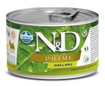 N&D dog PRIME konz. ADULT MINI boar/apple