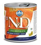 N&D dog GF PUMPKIN konz. STARTER lamb/blueberry