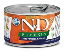 N&D dog GF PUMPKIN konz. PUPPY MINI lamb/blueberry