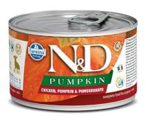 N&D dog GF PUMPKIN konz. PUPPY MINI chicken/pomegranate