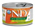 N&D dog GF PUMPKIN konz. ADULT MINI boar/apple