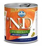 N&D dog GF PUMPKIN konz. ADULT lamb/blueberry