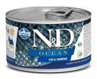 N & D dog OCEAN konz. ADULT MINI codfish / pumpkin