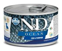 N&D dog OCEAN konz. PUPPY MINI codfish/pumpkin