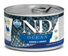 N&D dog OCEAN konz. ADULT MINI herring/shrimps