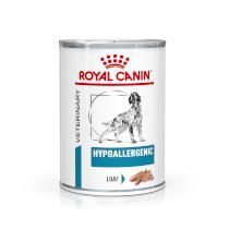 Royal Canin Veterinary Health Nutrition Dog HYPOALLERGEN konzerva
