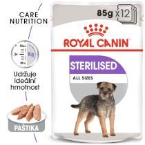 Royal Canin Sterilised Dog Loaf - kapsička s paštikou pro kastrované psy