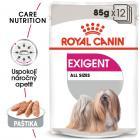 Royal Canin Exigent Dog Loaf - kapsička s paštétou pre maškrtné malých psov