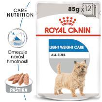 Royal Canin Light Weight Care Dog Loaf - dietní kapsička s paštikou pro psy