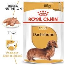 Royal Canin Dachshund Loaf - kapsička s paštétou pre jazvečíka