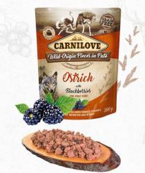 CARNILOVE dog  kapsa  PATÉ OSTRICH/blackberries
