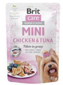 BRIT CARE dog MINI kapsa  ADULT chicken/tuna