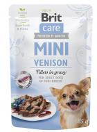 BRIT CARE dog  MINI kapsa ADULT  venison